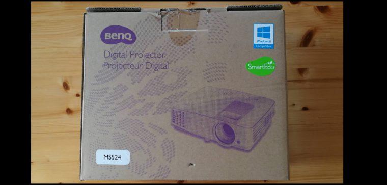 Projektor BenQ MS524 (DLP,SVGA,4:3) – bez dálkového ovladače